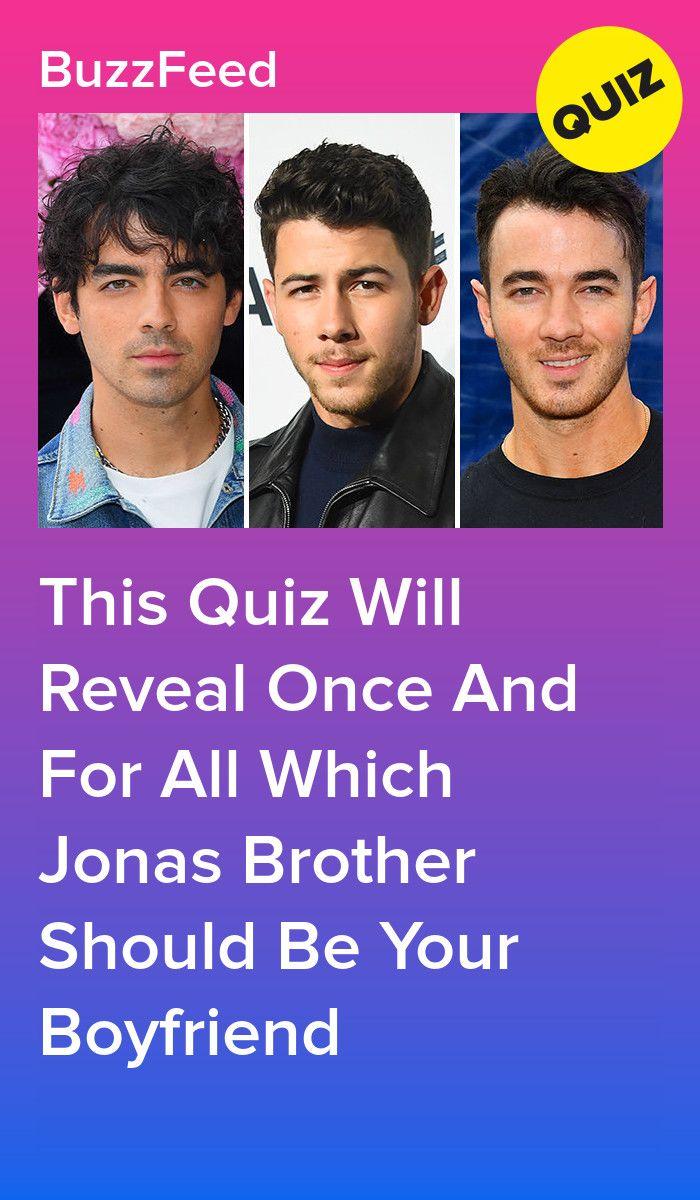 jonas brothers dating quiz