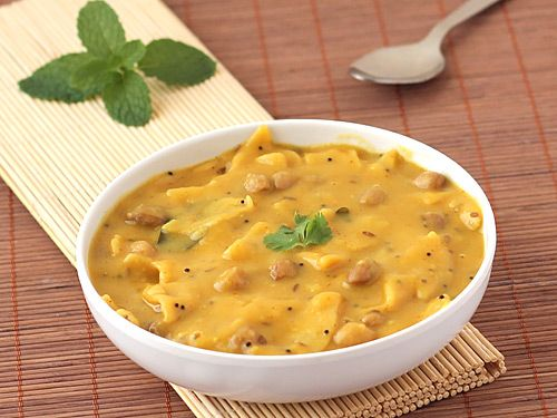 Apart from being easy to prepare, healthy and stomach filling, this dal dhokli is capable of carrying entire meal on its own, which means that it can be served all by itself and one wouldn't care for anything in accompaniment. Delicious!
