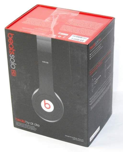 Apple Beats by Dr Dre Solo HD Nere Cuffie OnEar Originali