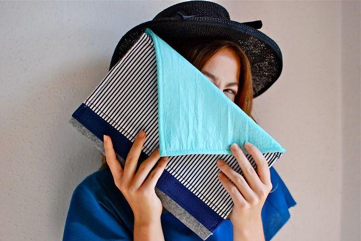 #NotSoSo #blue #kopertowka #bag  #labelsshop #clutch
