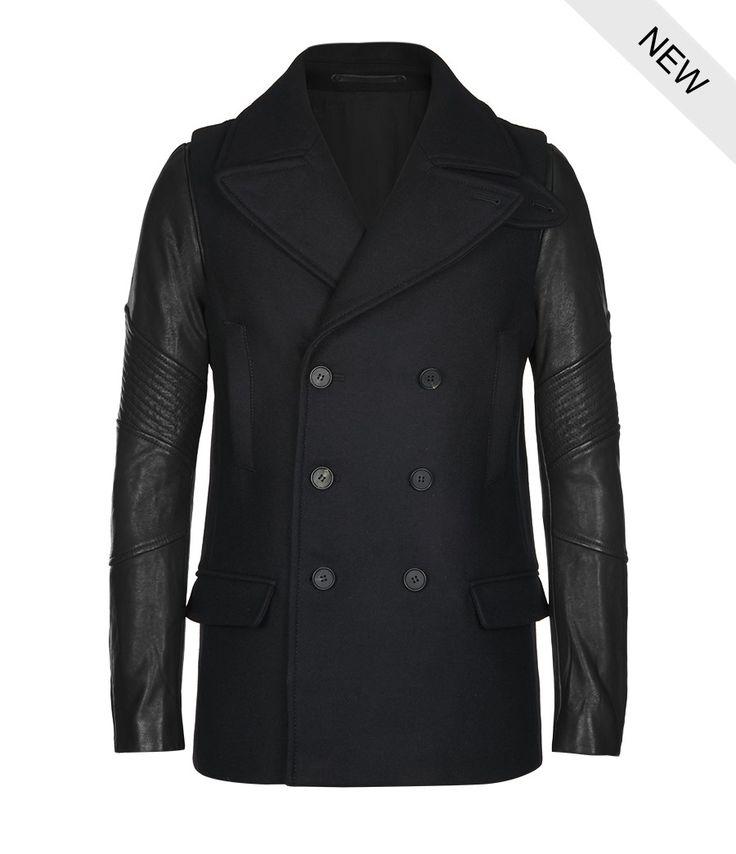11 best Pea coats images on Pinterest | Men coat, Men fashion and ...