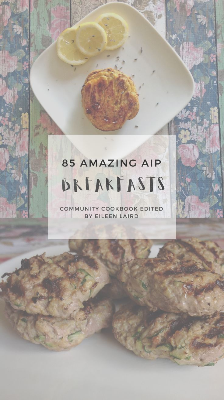 """""""What can I eat for breakfast?"""" This is the most common question I've seen come up from people concerned about starting the autoimmune protocol. There was a clear need for this cookbook in our community. 85 Amazing AIP Breakfasts goes above and beyond to include detailed notes for special diet modifications including: GAPS, Low-FODMAP, Low-Histamine, and Coconut-Free. (affiliate)"""