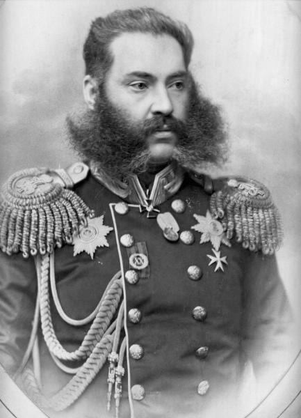 Портрет графа Александра Владимировича Адлерберга, 1860 г.