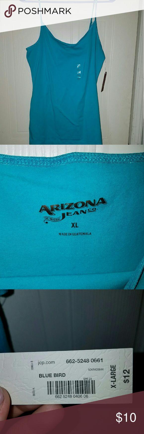 Blue cami Arizona blue cami. Never worn brand new with tags. Arizona Jean Company Tops Camisoles
