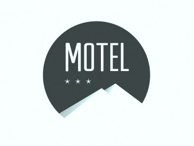 simple #logo #motel