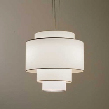 Multi Tiered Drum Shade Pendant Light Lighting