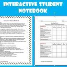 $2.50 Interactive Student Notebook Directions & Grading Rubric