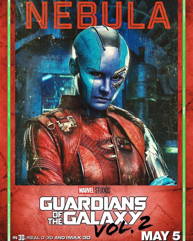 Nebula - Guardianes de la Galaxia Vol. 2 #Posters