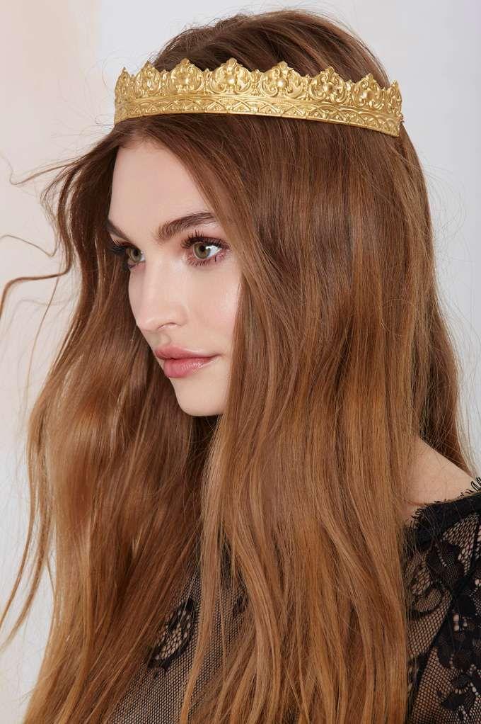Rock 'n Rose Cara Metal Crown - Accessories | Hair + Hats