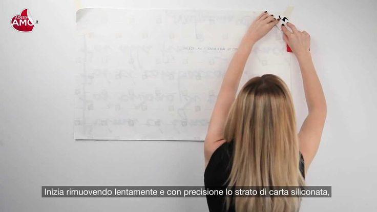 Video Tutorial applicazione wallsticker