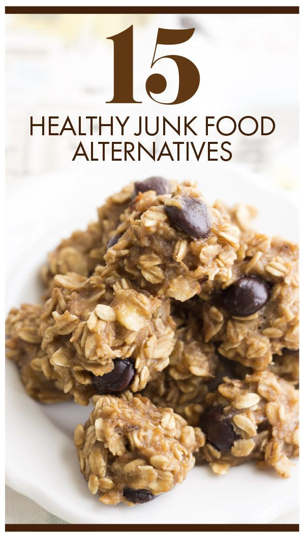 Trying to lose weight but can't get rid of your junk food cravings? Try our 15 healthy junk food alternatives and enjoy healthier versions of your favorite recipes. From chips to ice cream recipes — we've got you covered. Womanista.com
