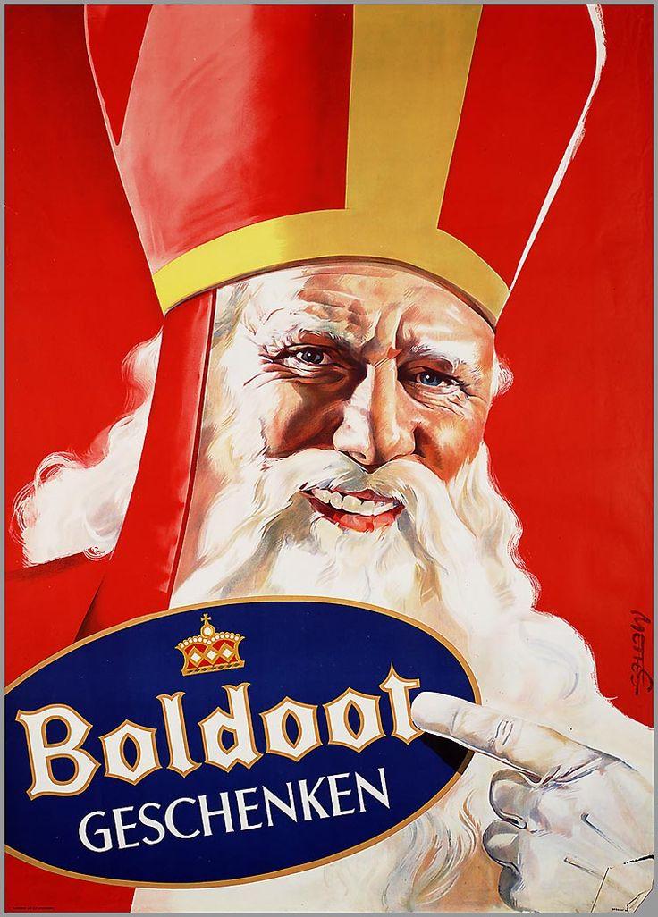 Boldoot geschenken - reclame 1951 / 1952 - Sint Nicolaas