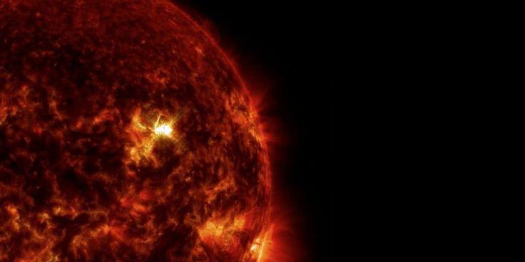 Dit zijn de beste beelden die NASA ooit van een zonnevlam kon maken