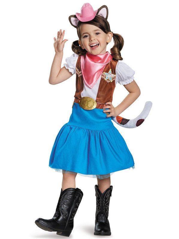 Halloween Sheriff Callie's Wild West Sheriff Callie Classic Child Costume