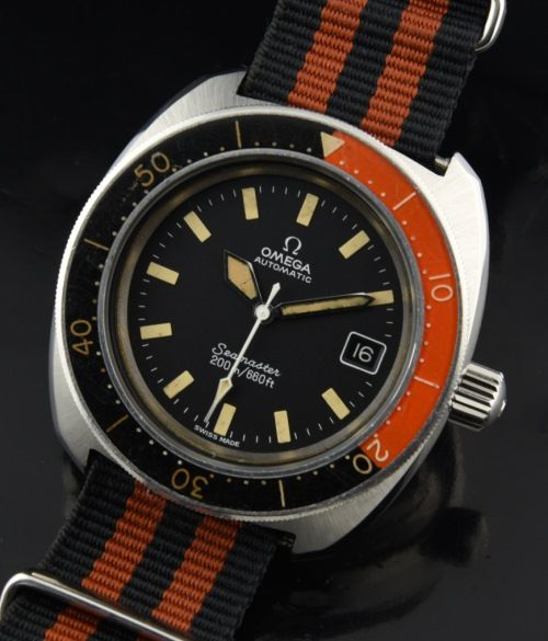 Omega Seamaser 200 Rouge Noir Dive Watch - WatchesToBuy.com