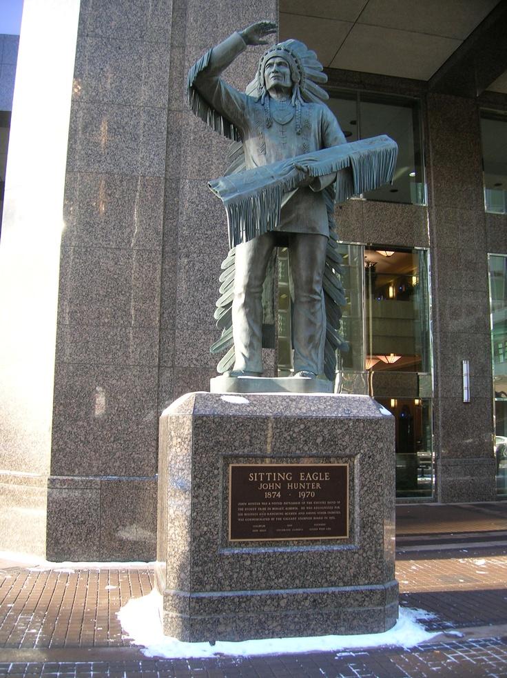 Calgary - Sitting Eagle