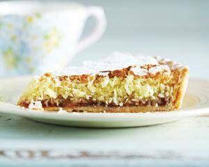 Kokosnoot Bitterkoekjes Taart recept | Smulweb.nl