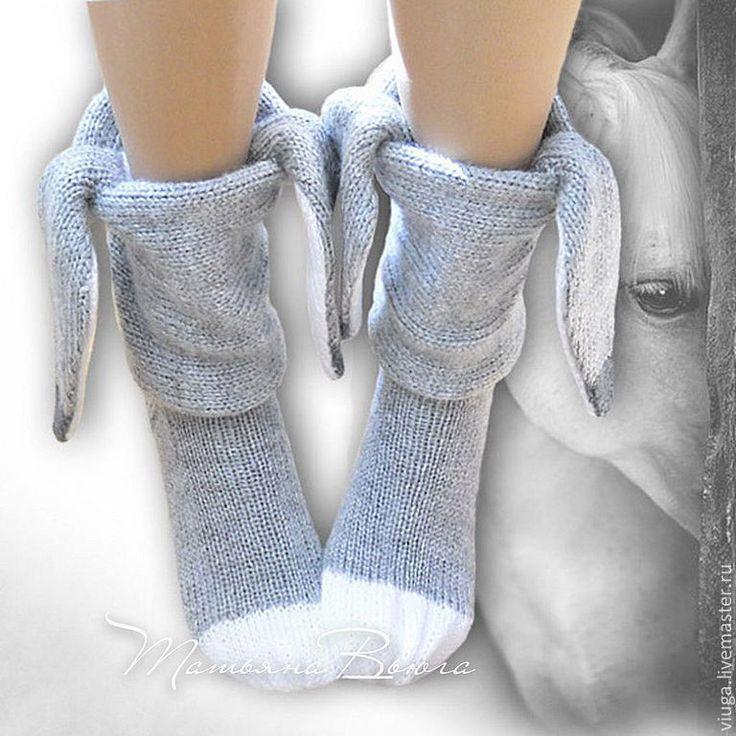 Купить День рождения Иа. Носки вязаные, шерстяные, домашняя обувь. - носки вязаные