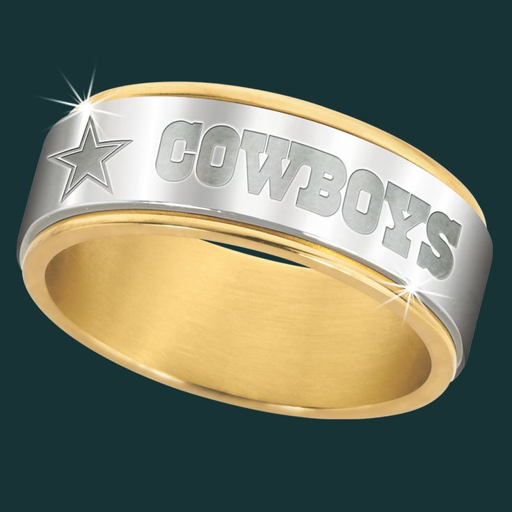 Dallas Cowboys Spinner Ring - The Danbury Mint