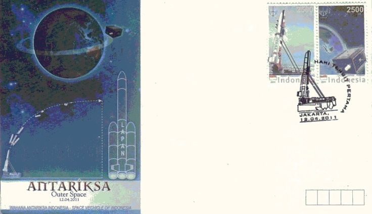 2011 Outer Space. Issued date: 12 April 2011
