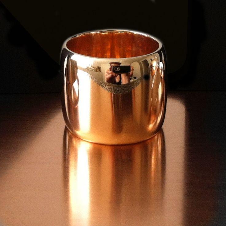 Luscious Rose Gold Ring Kristina Karter Jewellery Design.