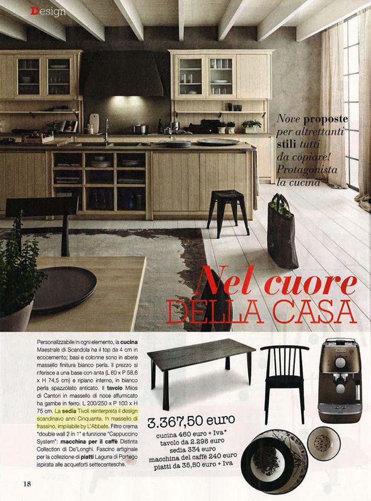 L'Abbate Italia: VERO casa 07/08.2016. Tivoli chair > Design Mikko Laakkonen.