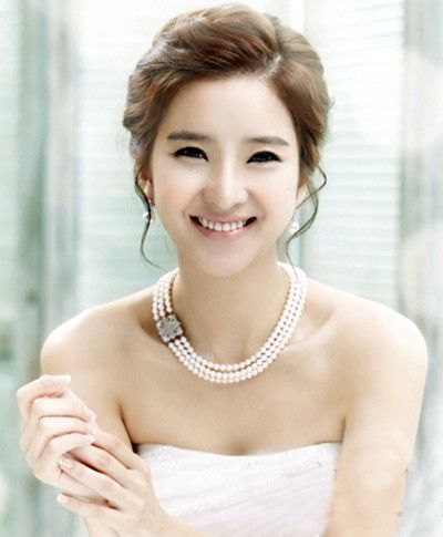 2013 Korean bridal hair beautiful and romantic pictures do the most beautiful princess
