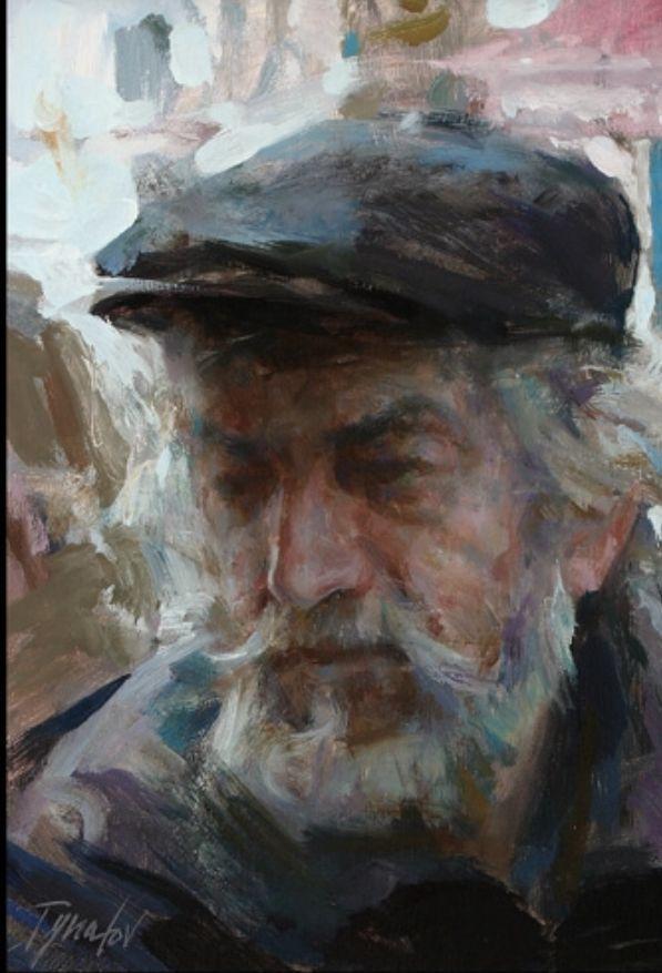 Site Peinture A L Huile Upside Art Le Vieil Homme Par