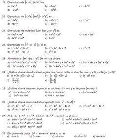 Guía de Matemáticas para el examen de ingreso a la UNAM (Parte I)