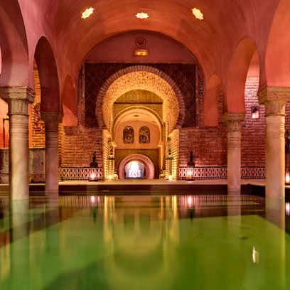 Hammam al Andalus - Granada, Spain One of the most AMAZING places I have been :) ... I ❤Espana