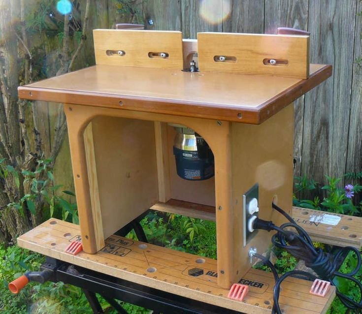 49 free diy router table plans for an epic home