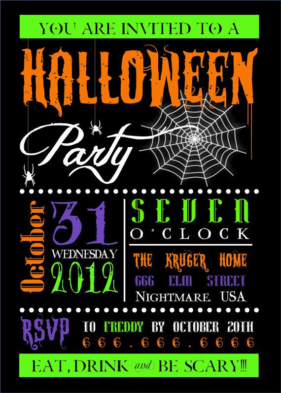 80e944f1524c8f140814f52d4ab5f0ae haloween party halloween birthday 34 best halloween party invitations images on pinterest,Cute Halloween Party Invitations