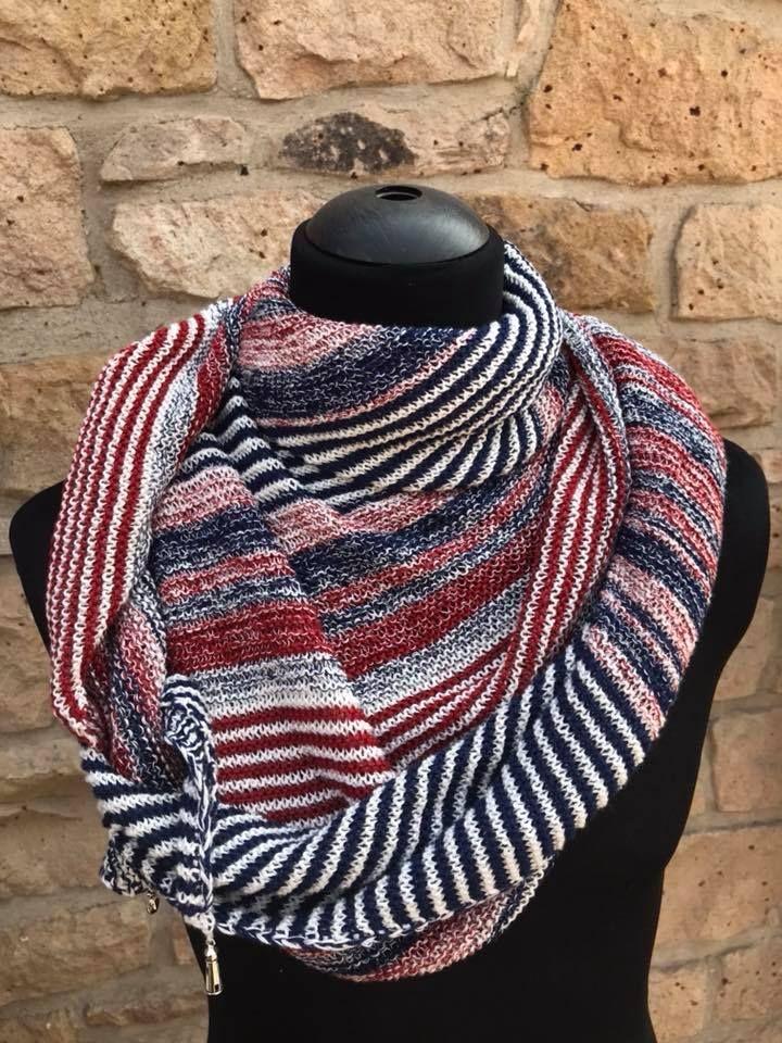 Strickset Für Leuchtturm Tuch Merino Stricken Knitting