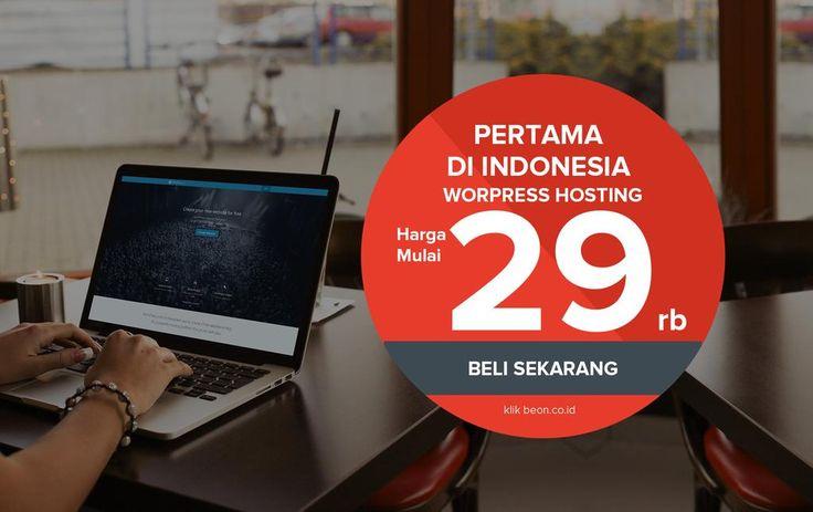 "Beon.co.id on Twitter: ""Pertama di Indonesia, Wordpress Hosting harga mulai 29rb klik http://t.co/AZYQwYCTE3 http://t.co/BeEIF6uGBA"""