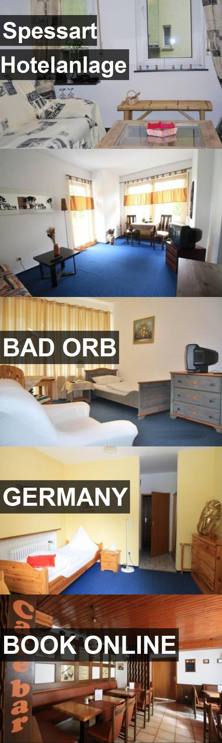 Spessart Hotelanlage in Bad Orb, Germany. For more information, photos, reviews and best prices please follow the link. #Germany #BadOrb #travel #vacation #hotel