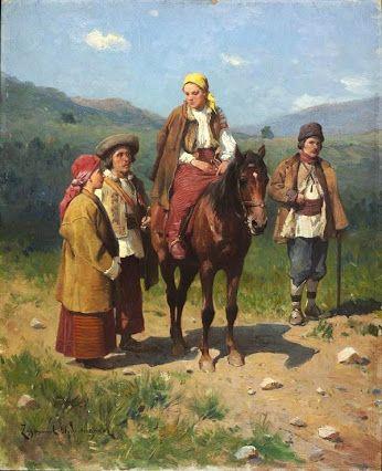 Dumitru Coțe - Google+Artist : Ajdukiewicz Sigismund (Polish , 1861 - 1917)…