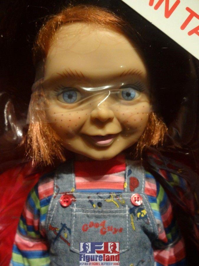 "New stock arrival 17-10-2016.  Mezco Toyz 15"" Mega Scale Talking Good Guys Chucky doll.  A UK exclusive."