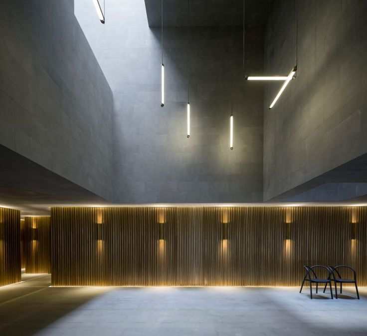 2017 Interior Trends | Mindful Minimalism  Shanghai Theatre by Neri&Hu