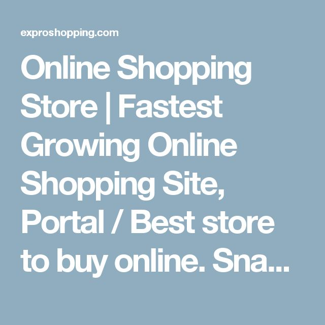 Online Shopping Store | Fastest Growing Online Shopping Site, Portal / Best store to buy online. Snack Makers | Largest online shopping site for Snack Makers and other kitchen products in India