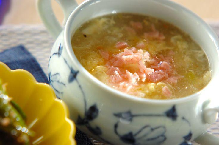 ホタテの旨味が広がる、あったかスープです。冬瓜とホタテのスープ/杉本 亜希子のレシピ。[中華/スープ]2015.08.17公開のレシピです。