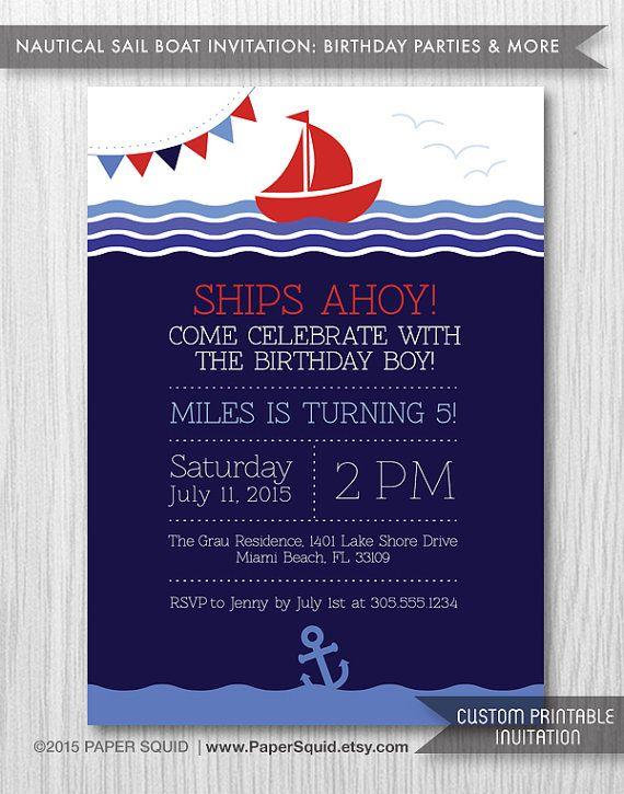 25 Unique Boat Birthday Parties Ideas On Pinterest Nautical