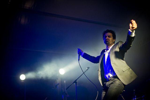 Mazgani, huge artist, enormous person :)