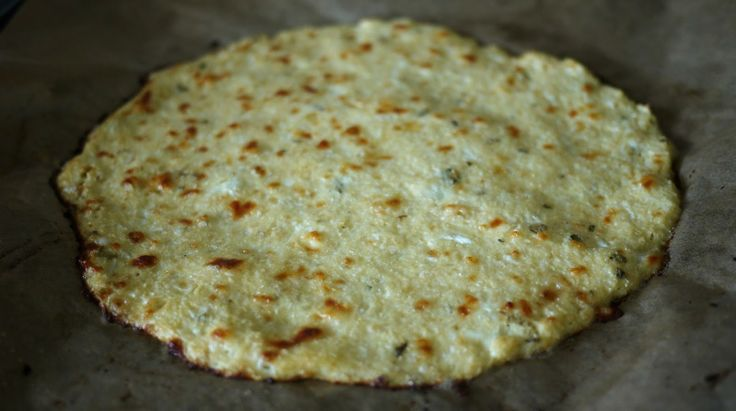 Low Carb Pizza crust made from Cauliflower - The Londoner