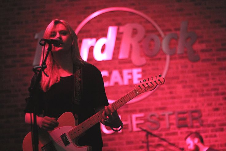 October: Joanne Shaw Taylor takes to the Rock Stage for an intimate gig in support of Hard Rock's Pinktober campaign. Along with Jim Kirkpatrick and the Heavy Weather, they helped to raise over £1,000.00 for the cause! #ThisIsHardRock