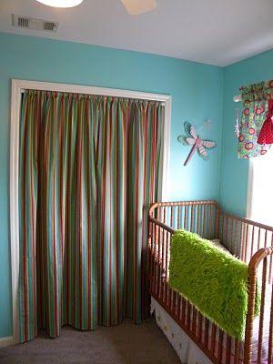 1000+ images about Closet Door Inspiration on Pinterest   Curtain ...