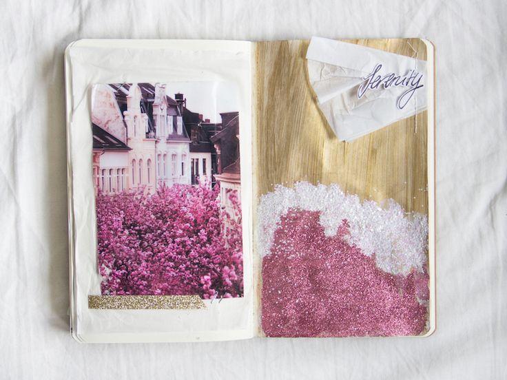 @scatteredconfet  | Creative Team Inspiration | Get Messy Art Journal
