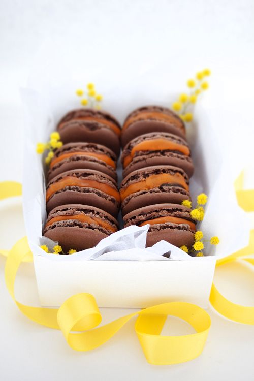 ... macaron stuff on Pinterest | Macaroons, Black Sesame and Blueberry