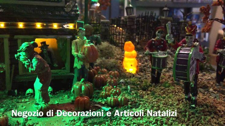 SPOOKY TOWN LEMAX - Villaggio 2015 il Regno di Babbo Natale VETRALLA (VT)