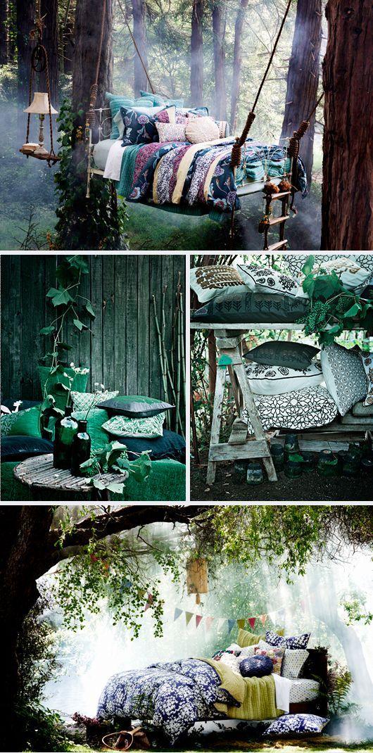 Outdoor Fairy Beds Inredning Inredning Sovrum Tr 228 Koja