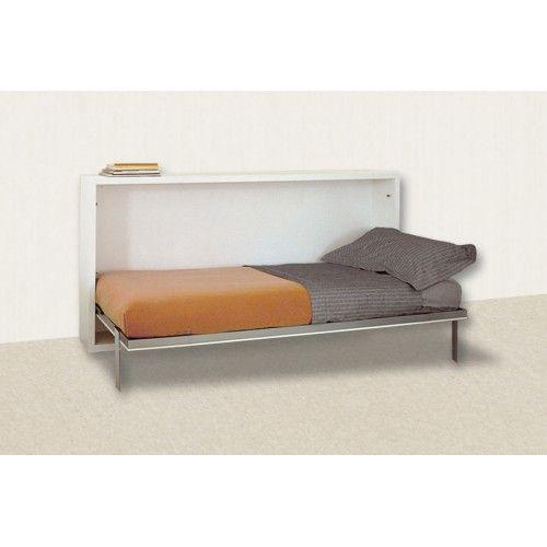 Простейшие откидные кровати могут быть в-основном двух видов: вертикальные и горизонтальные. Модель трансформер Solo горизонтальная — это удобное и компактное спальное место.  В закрытом виде кровать принимает вид коробки, которая, к примеру, может служить полочкой для книг или цветов.